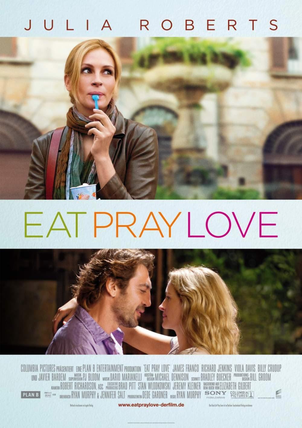 Filme comer, rezar e amar