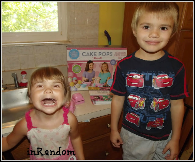Making Cake Pops with Kids