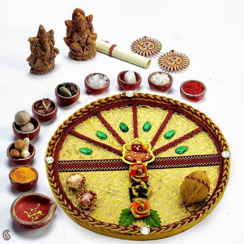 how to prepare karva chauth thali