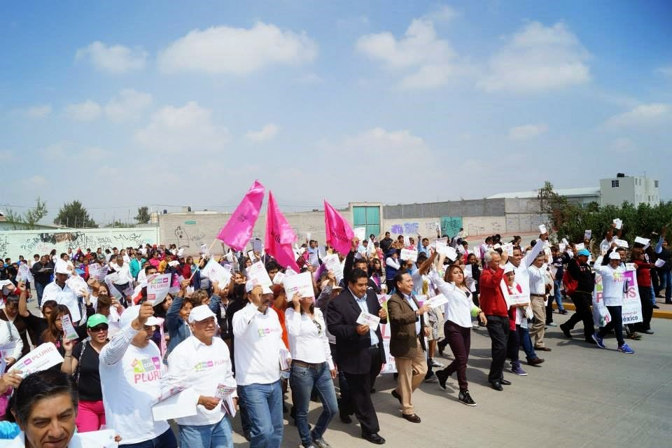 Valle de Chalco Solidaridad apoya públicamente a EPN
