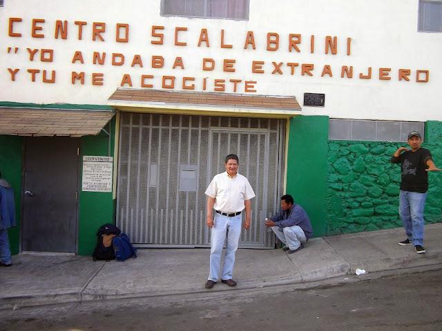 Investigar en tiempos extra os la pol tica migratoria de for Mural de la casa del migrante