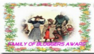 Family of Bloggers award