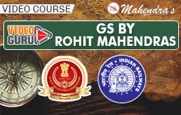 Video Course: GS By Rohit Mahendras