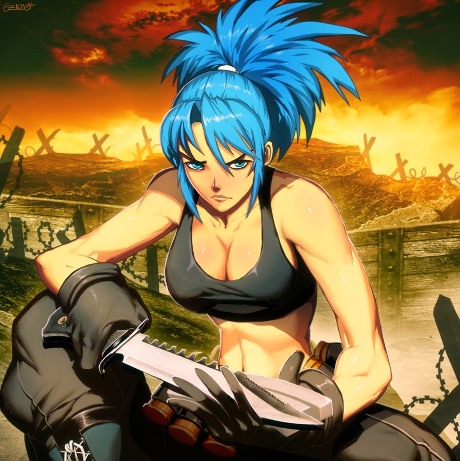 KOF, anime girl,cool anime wallpaper