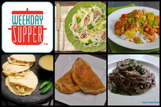 Chile Verde Chicken Quesadillas #WeekdaySupper - La Cocina de Leslie