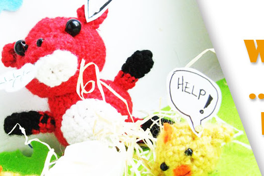 Amigurumi fox free crochet pattern of Tulio the stealer of the chicken by The Sun and the Turtle