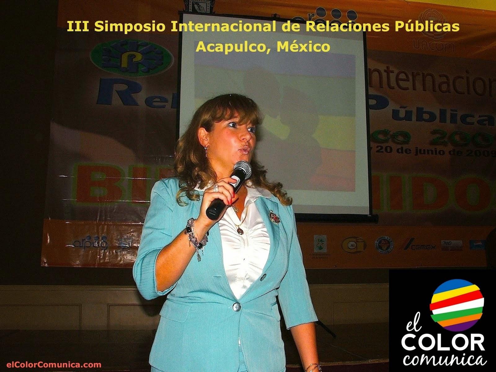 Simposio internacional de Relaciones Públicas, México