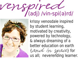Krissy is inspired by student learning