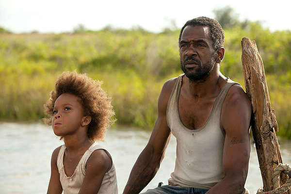 quvenzhane wallis dwight henry beasts of the southern wild