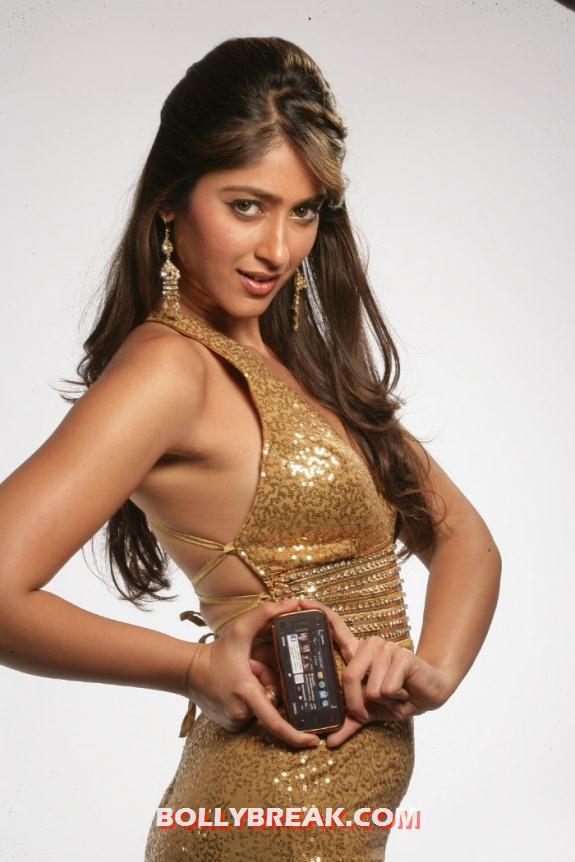 , Ileana Gold Dress  Photo Shoot