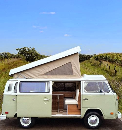 Holiday Rental - tour South of France in a retro VW Camper