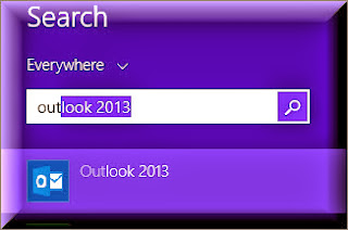 Microsoft Office Outlook in Windows 8