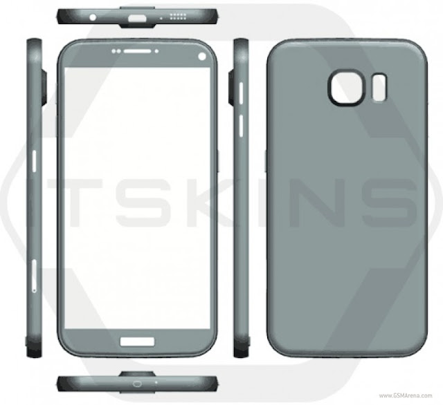 Samsung Galaxy S7, S7 Plus Sizes and Renders Leak