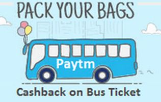 Paytm Big Day Offer : Get Rs.130 Cashback on Bus Ticket Bookings of Rs.300 or Above - paytm bus ticket offers