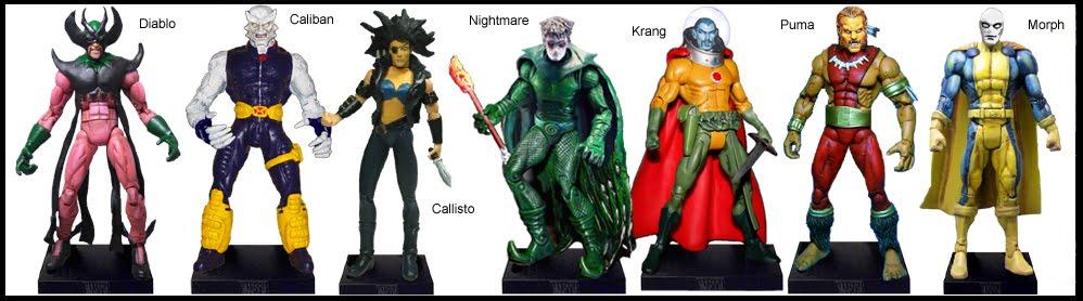 <b>Wave 13</b>: Diablo, Caliban, Callisto, Nightmare, Krang, Puma and Morph
