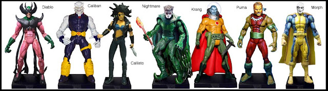 <b>Wave 13</b>: Diablo, Caliban, Callisto, Nightmare, Krang, Puma and Morph