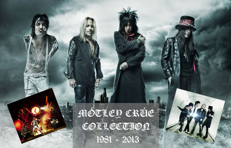 Mötley Crüe Collection 1981 - 2013