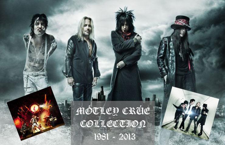 Mötley Crüe Collection 1981 - 2013