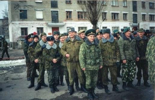 Разведвзвод 1ММГ 106ПОГОН ЗГ ПВ, осень 1995