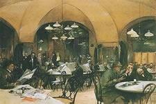 Café Griensteidl, Viena