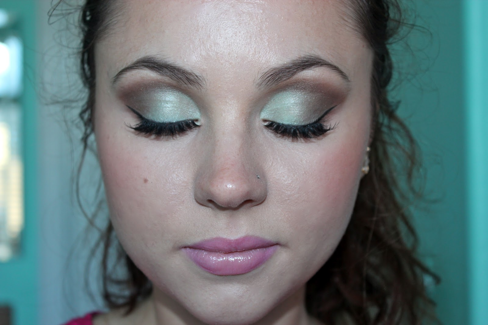 Thelovelynis Mint Brown Homecoming Makeup Tutorial