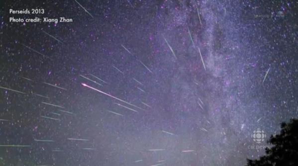 Badai Meteor Camelopardalid Tidak Spektakuler