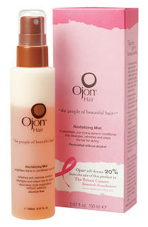 Ojon, Ojon Pink Ribbon Revitalizing Mist, Ojon Revitalizing Mist, hair mist, hair, hair products, styling products, breast cancer awareness