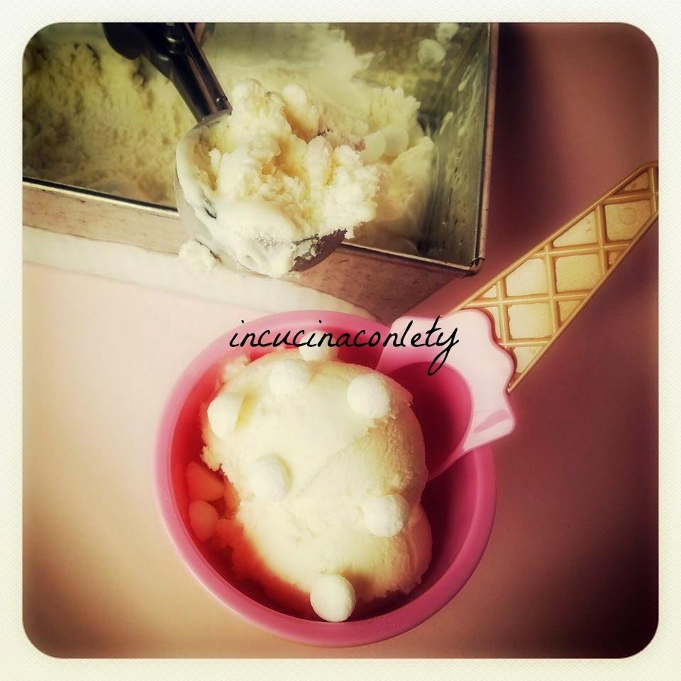 gelato alla panna senza gelatiera!!!