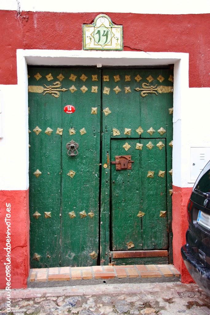 Puerta cualquiera de Guadix