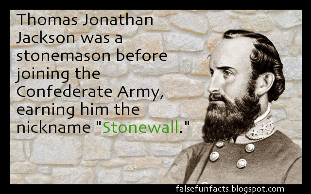 quick facts on stonewall jackson confederate Stonewall jackson foundation quick facts place lexington , va public wwwstonewalljacksonorg summary programs + results preservation of the only home that the famous confederate generalthomas jonathan stonewall jackson ever owned ruling year.