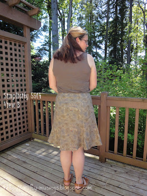 Simplicity 5914, back view