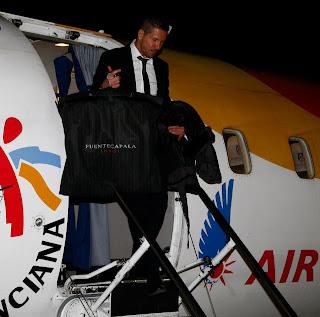 El Atleti llega a Granada