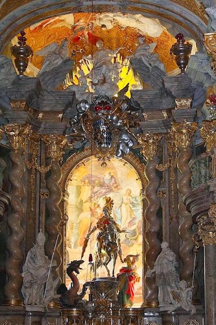 Hohenfels Volks: St George Overcomes, Weltenburg