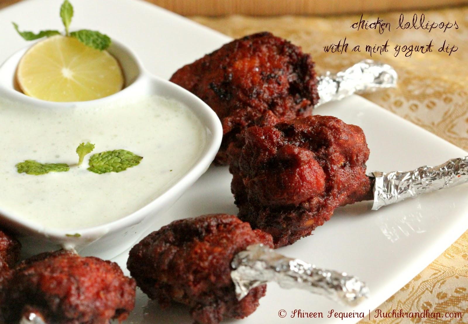 Ruchik Randhap (Delicious Cooking): Chicken Lollipops