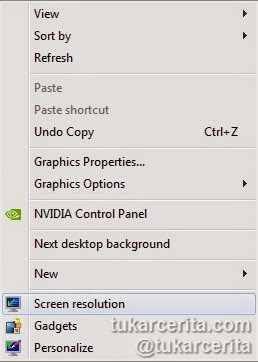Screen resolution laptop