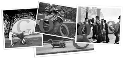 Robert Doisneau 100th Birthday Google Doodle
