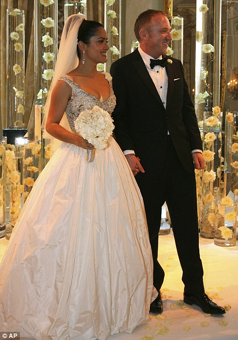 salma hayek wed...