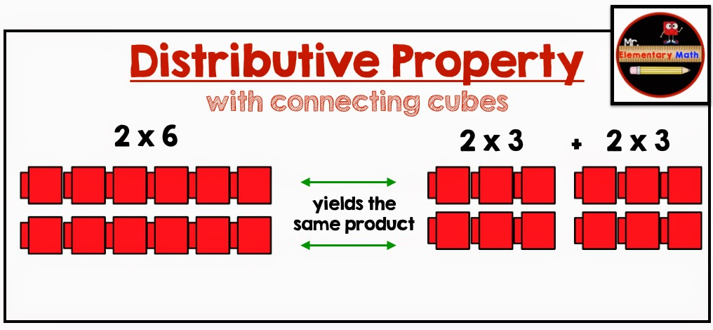 photos of distributive property, mr elementary math
