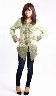Model Gaun Kebaya Modern Terbaru Remaja