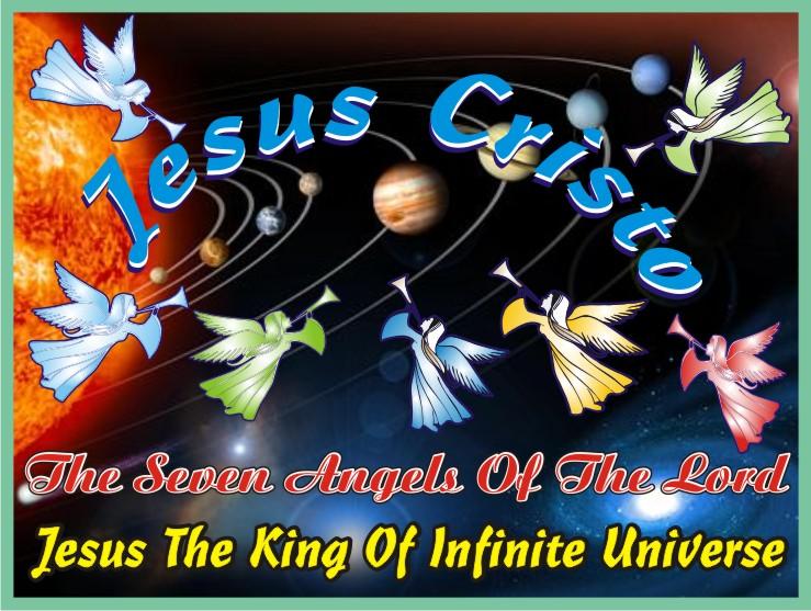 Jesus e Os Sete Anjos do Altíssimo
