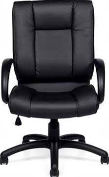 Luxhide Leather High Back Executive Chair