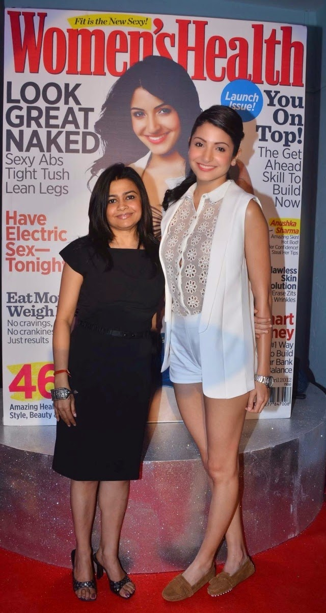 Anushka Sharma launched the inaugural issue of 'Women's Health' magazine