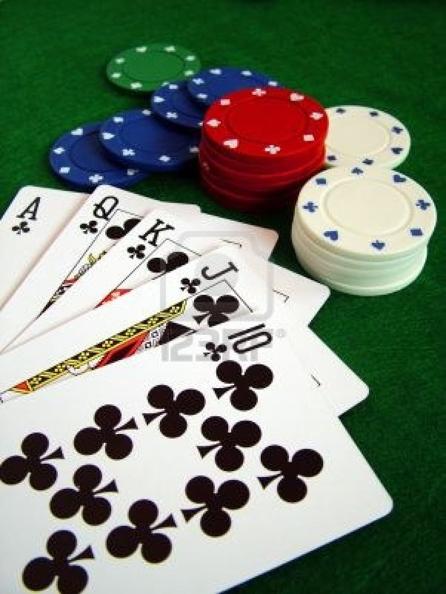 how to play 21 card game with poker chips
