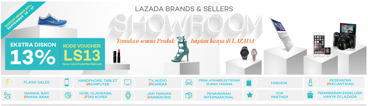 Lazada Brand & Seller Showroom 15 – 17 September 2015