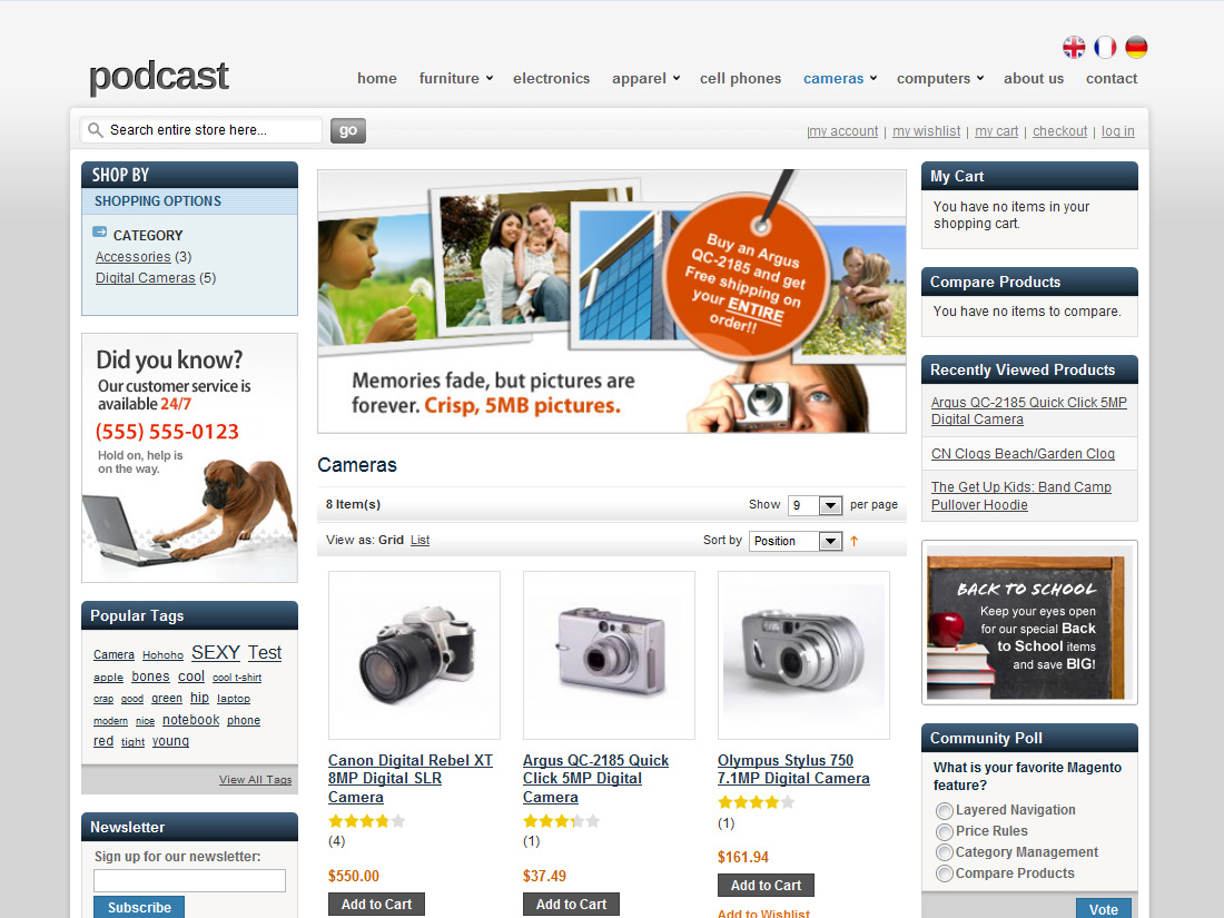 Ecommerce-HelloPodcast-Electronic-Themes