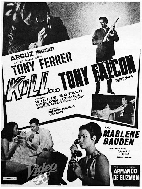 "... WILLIE SOTELO, VIC SILAYAN AND MARLENE DAUDEN IN ""KILL... TONY FALCON"