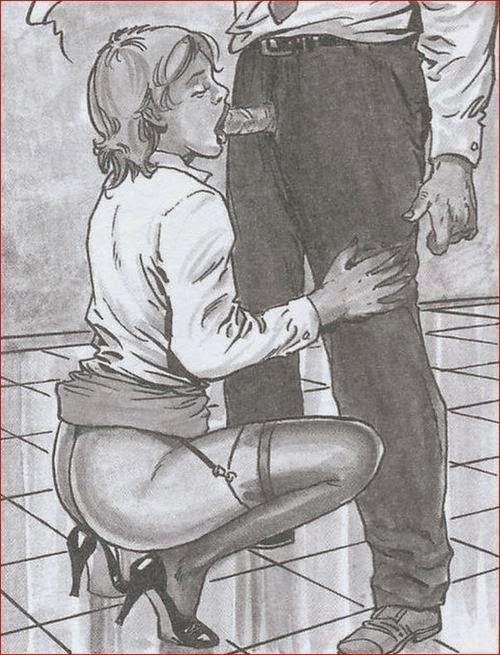 Cartoon femdom captions