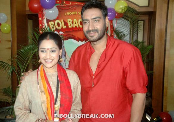 Disha Vakani, Ajay Devgan - (13) -  Asin, Prachi Desai Bol Bachchan Stills