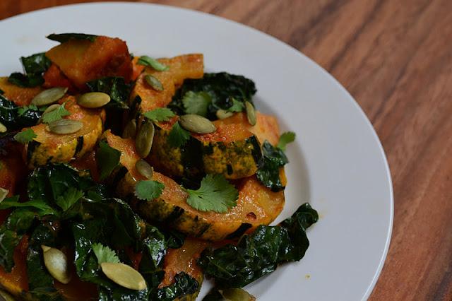 Nourish The Roots: Miso-Curry Delicata Squash