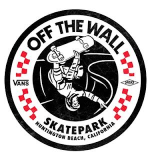 Vans Logo, Vans Skatepark, Huntington Beach, skateboarding